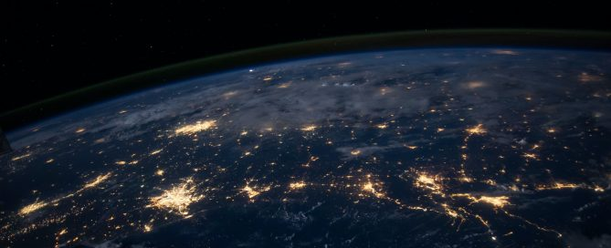 Earth by night/view from the space